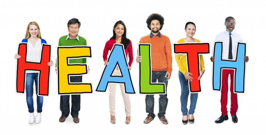 Group of People Standing Holding Health